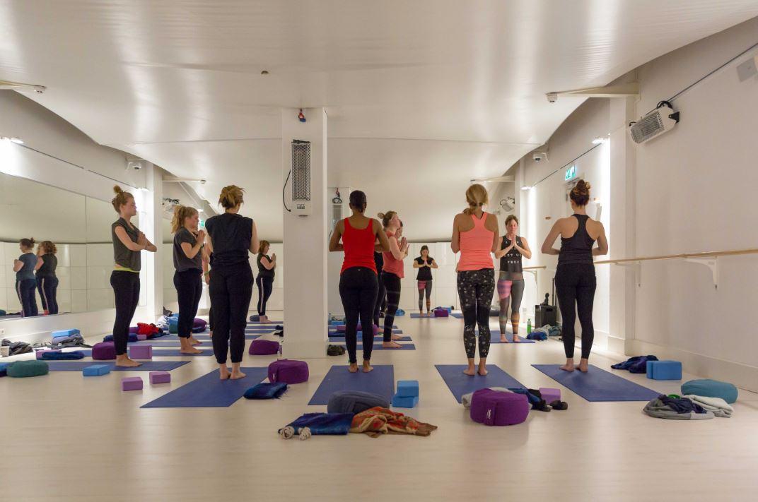 yoga-les alternatief wintersport