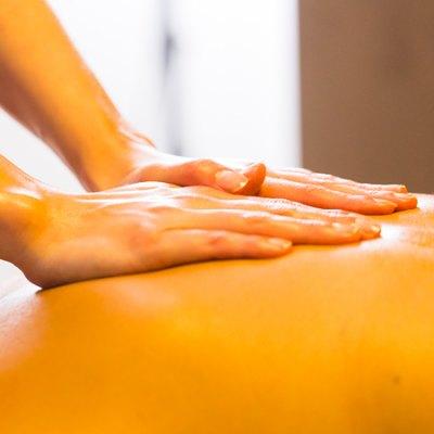 D stress massage 35 min