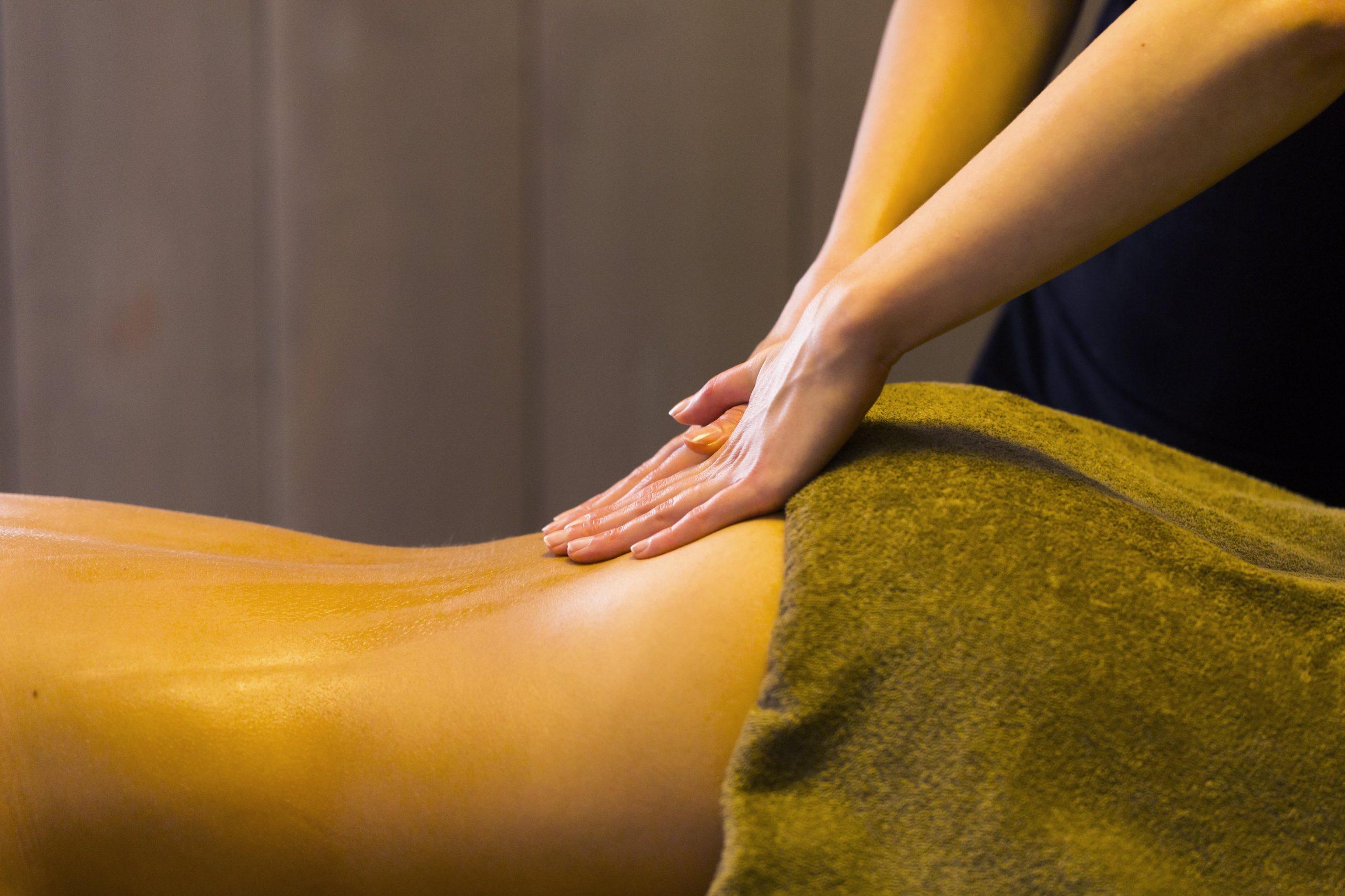 Een verdiende massage